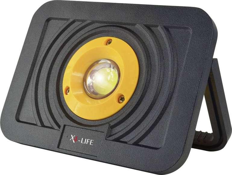 X4-LIFE Akku LED-Arbeitsleuchte mit 1100lm für 19,99€ (statt 34,99€)