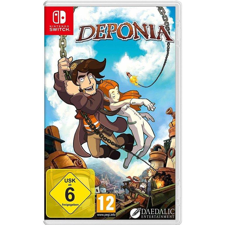 Deponia (Nintendo Switch) für 15,64€ inkl. VSK (statt 23€)