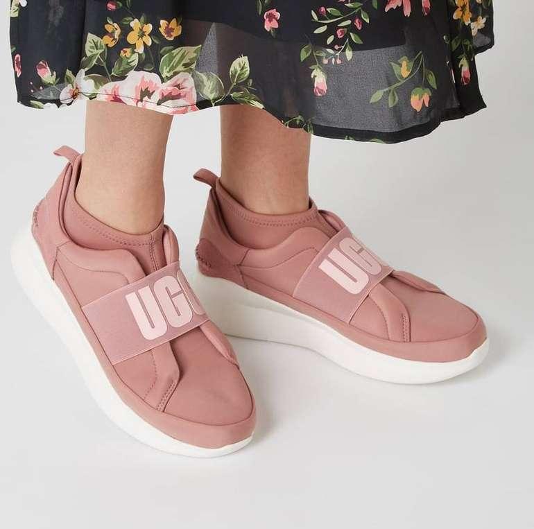 UGG Neutra Damen Sock Sneaker aus Textil und Veloursleder zu 89,99€ (statt 120€)