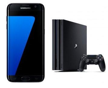 PS4 Pro + S7 Edge + Telekom Magenta Mobil M (bis 6GB LTE) ab 49,95€ mtl.