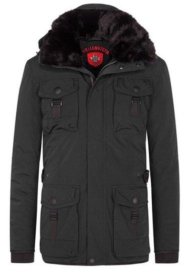 Wellensteyn Leuchtcraft Winterjacke mit Kapuze in Schwarz für je 181,97€ inkl. Versand (statt 260€)