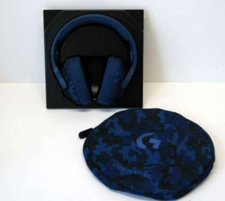 Logitech G433 Gaming Headset in Blau Camouflage für 52,99€ (statt 75€)