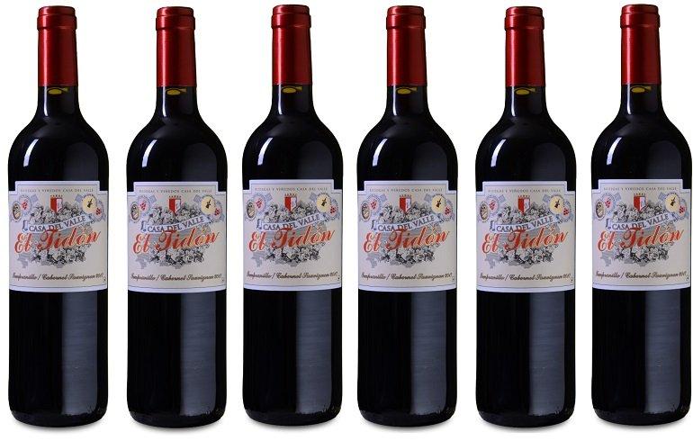 Weinvorteil: 50% Rabatt beim Kauf von 12 Flaschen, z.B. 12 Flaschen Casa del Valle – El Tidón Tempranillo für 48€