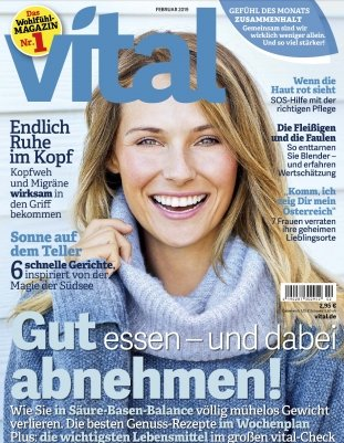 """4 Ausgaben der Zeitschrift """"Vital"""" für 9,75€ + 10€ Gutschein für Amazon"""