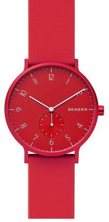 Skagen Unisex Aaren Kulor SKW6512 Quarz Uhr in Cranberry für 72€ inkl. VSK