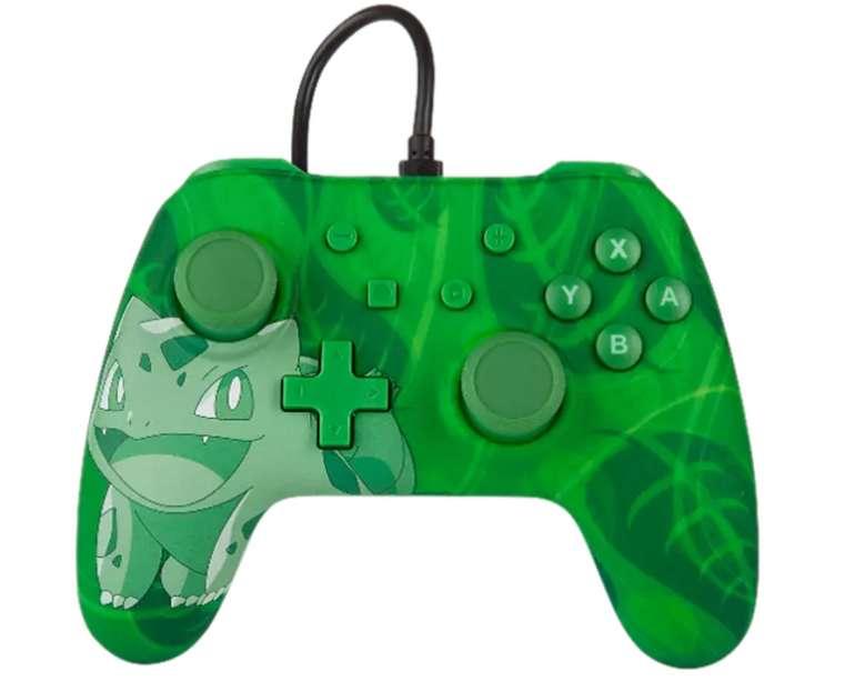 Power A Nintendo Switch Wired Controller im Pokemon Bisasam Style für 15,98€inkl. Versand (statt 25€)
