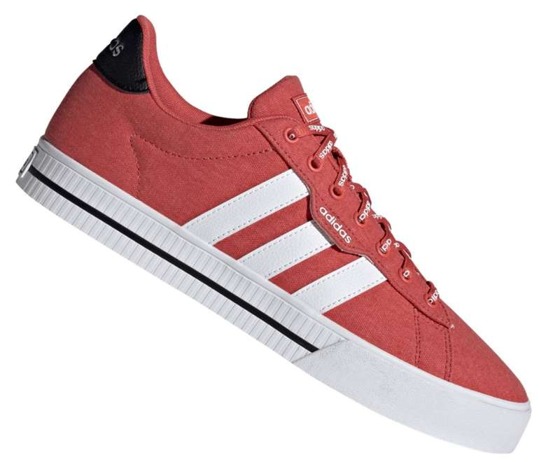 Adidas Daily 3.0 Herren Sneaker in rot für 35,95€ inkl. Versand (statt 50€)