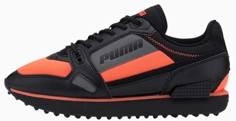 Puma Pre Black Friday Sale mit 20% Rabatt auf Neuheiten - z.B. Mile Rider Bright Peaks Sneaker für 70,14€