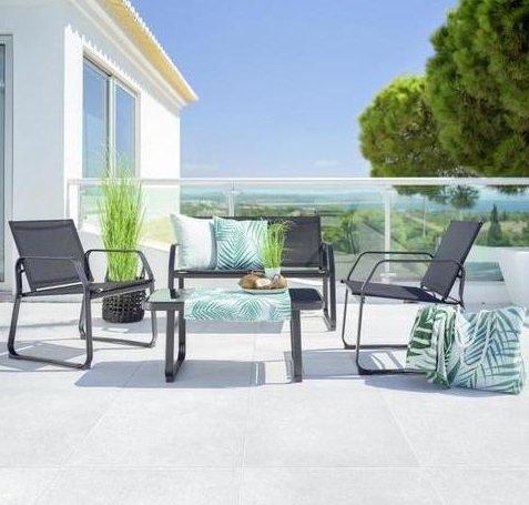 Modern Living Loungegarnitur Pentos für 114,20€ inkl. Versand (statt 140€)