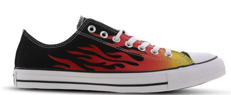 Converse Chuck Taylor All Star OX im Flammen Design Herren Sneaker für 24,99€inkl. Versand (statt 49€)