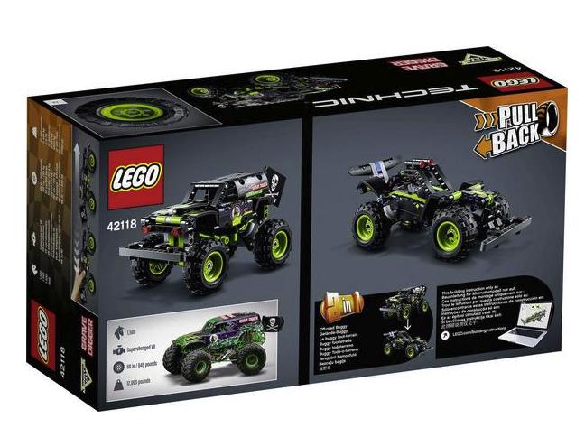 Lego Technic (42118) Monster Jam Grave Digger für 13,02€inkl. Versand (statt 20€)