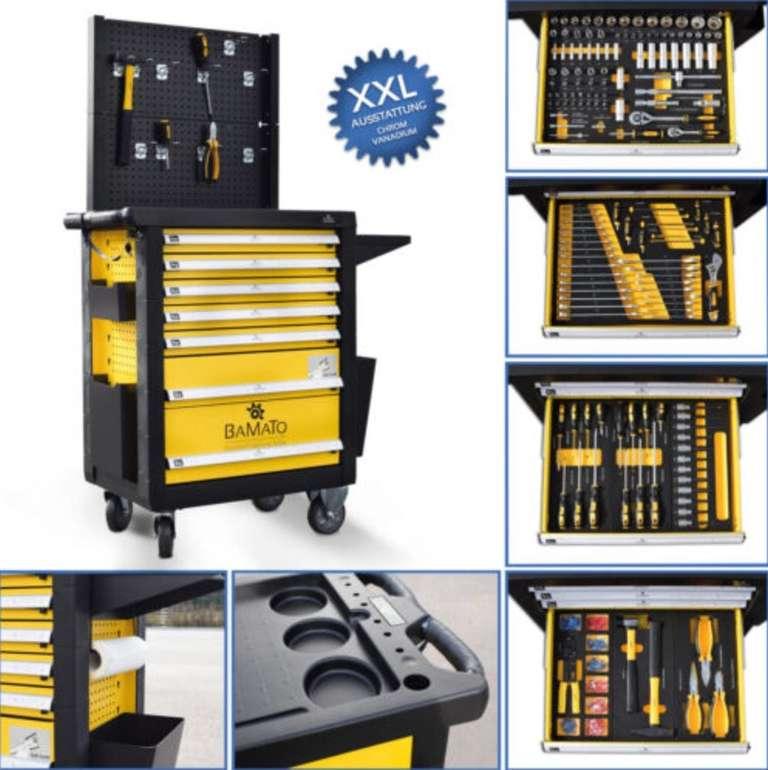 348-tlg. Bamato Work-550 XXL Werkstattwagen inkl. Werkzeug für 386,10€ (statt 475€)