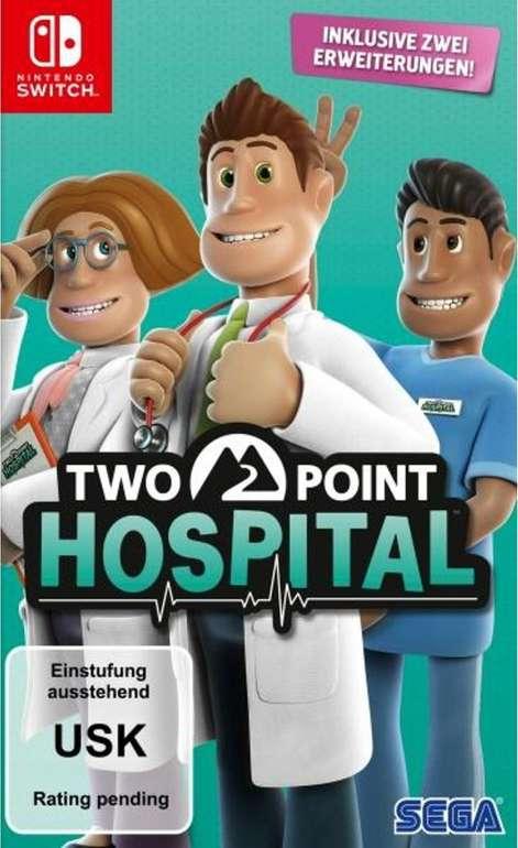 Two Point Hospital (Nintendo Switch) für 29,98€ inkl. Versand (statt 41€)