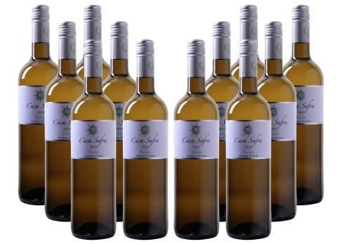 12 Flaschen Casa Safra - Verdejo - Castilla Wein für 53,83€ inkl. Versand