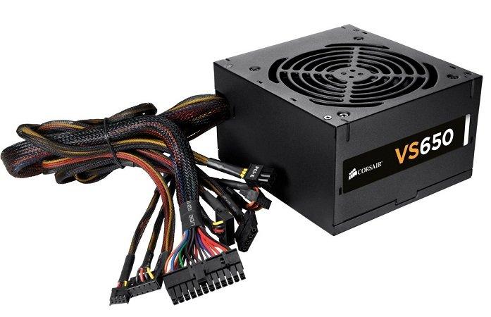 Corsair VS650 650 Watt ATX Netzteil für 39,90€ inkl. VSK (statt 53€)