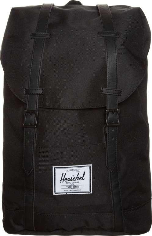 """Herschel Rucksack """"Retreat"""" in Schwarz für 36€ inkl. Versand (statt 54€)"""