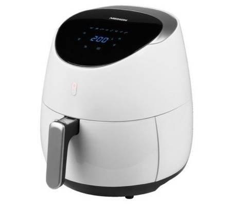 Medion MD 18290 - Digitale 4,5 Liter Heißluftfritteuse für 69,99€ (statt 85€)