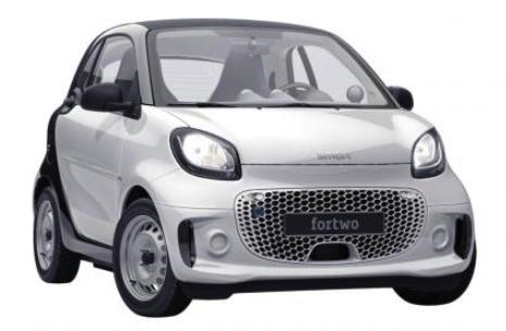 Privatleasing: Smart ForTwo Elektro-Fahrzeug mit 82 PS für 99€ mtl. (BAFA, LF: 0.45, Überführung: 595€)