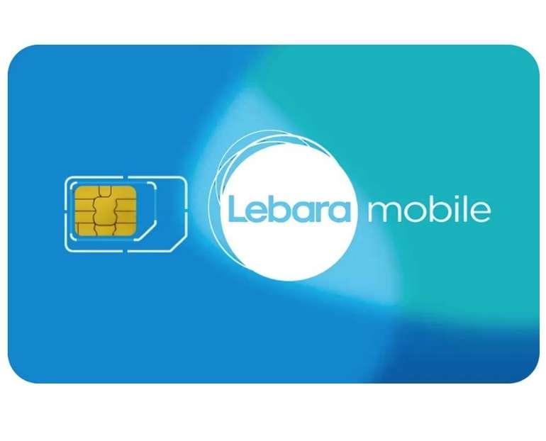 Lebara: Flexible Handyverträge - z.B. 17GB Telekom LTE & Allnet Flat + 50 Auslands-Freiminuten für 24,99€ mtl.
