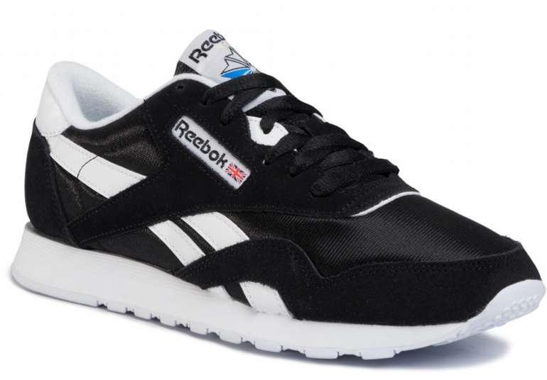 "Reebok Classic Nylon Herren Sneaker im ""Black/White""-Colourway für 46,80€ inkl. Versand (statt 58€)"