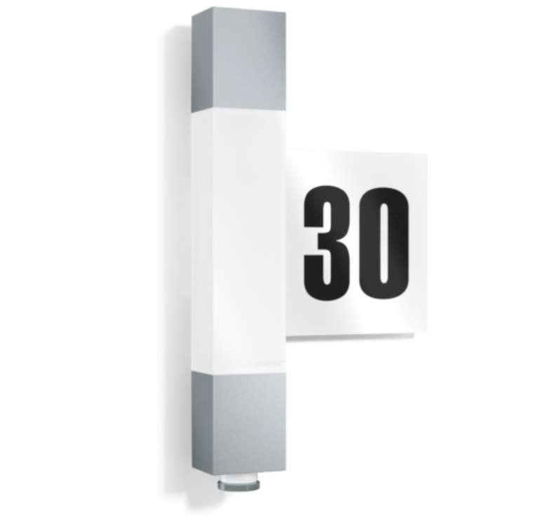 Steinel L630 - LED Sensor bzw. Außenleuchte mit Hausnummer für 99,99€ inkl. Versand (statt 126€)