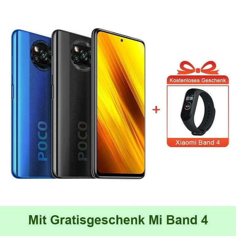 "POCO X3 NFC - 6.67"" (Snapdragon 732G, 120 Hz, 5160mAh, 33W Fast Charge) + Xiaomi Band 4 für 249€ + Testbericht!"