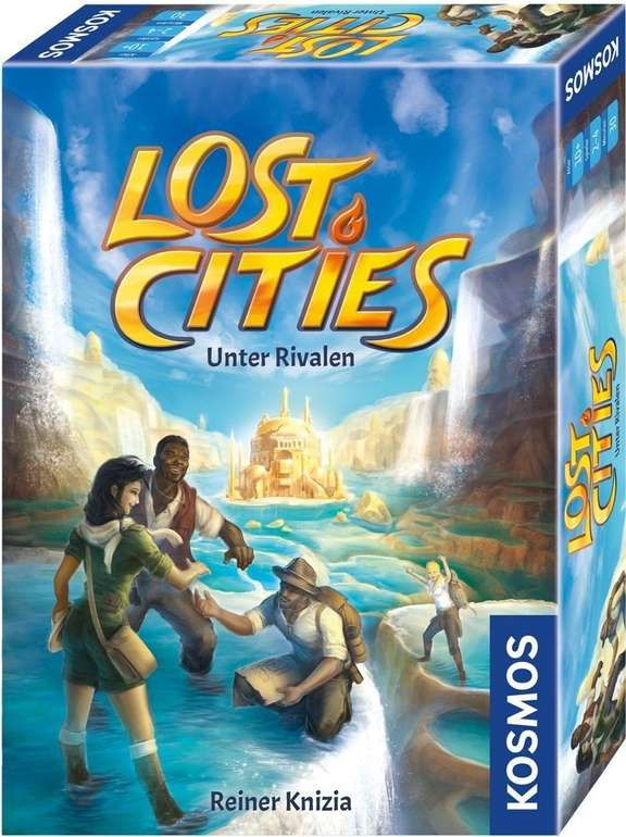 Kosmos Lost Cities - Unter Rivalen Spiel für 9,98€ inkl. Versand (statt 12€)