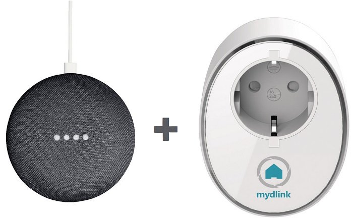 Google Home Mini Lautsprecher + D-LINK DSP-W115 Steckdose für 49€ (statt 64€)