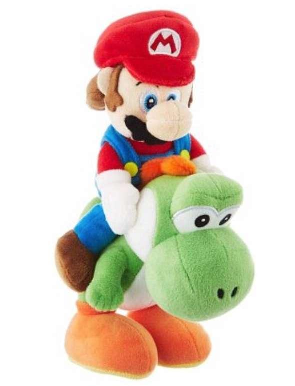 Nintendo Mario & Yoshi Plüschfigur (22 cm) für 21,11€ inkl. Versand (statt 27€)