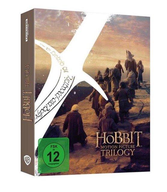 Der Hobbit: Die Spielfilm Trilogie - Extended Edition (Blu-ray, 4K) für 50,40€ (statt 59€) - Newsletter