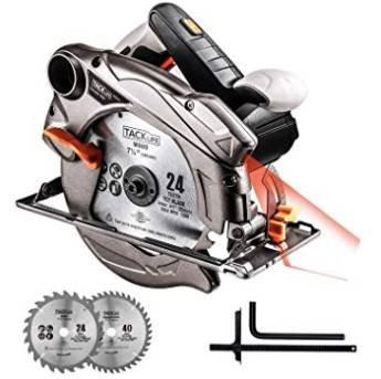 Tacklife PES01A Handkreissäge mit Laser für 29,99€ inkl. Versand (statt 40€)