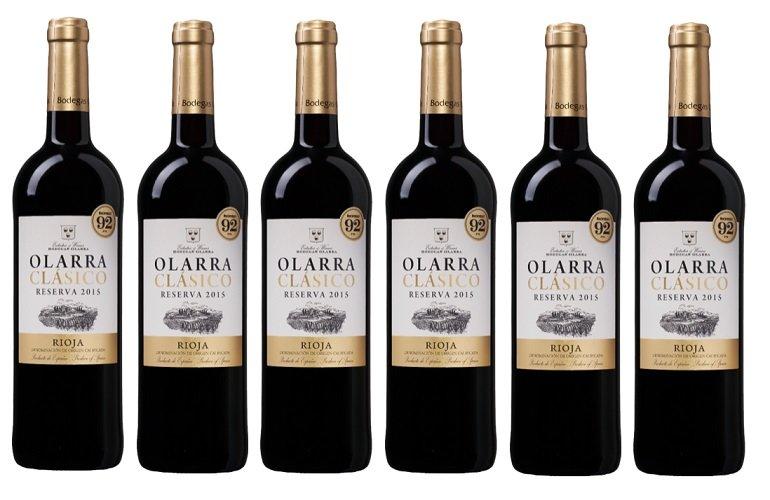 6er Karton Olarra Clasico - Reserva 2014 Rotwein für 36,84€ (statt 50€) - Neukunden!