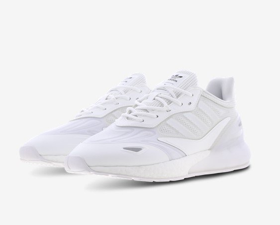 adidas ZX 2K Boost Herren Sneaker in weiß für 99,99€inkl. Versand (statt 110€)