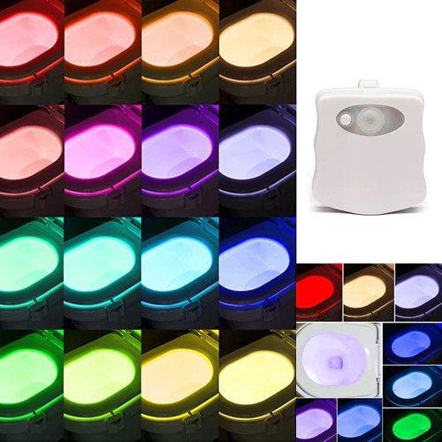 WC-Licht mit 16 Farb-LEDs und Bewegungsmelder für 3,14€ inkl. Versand