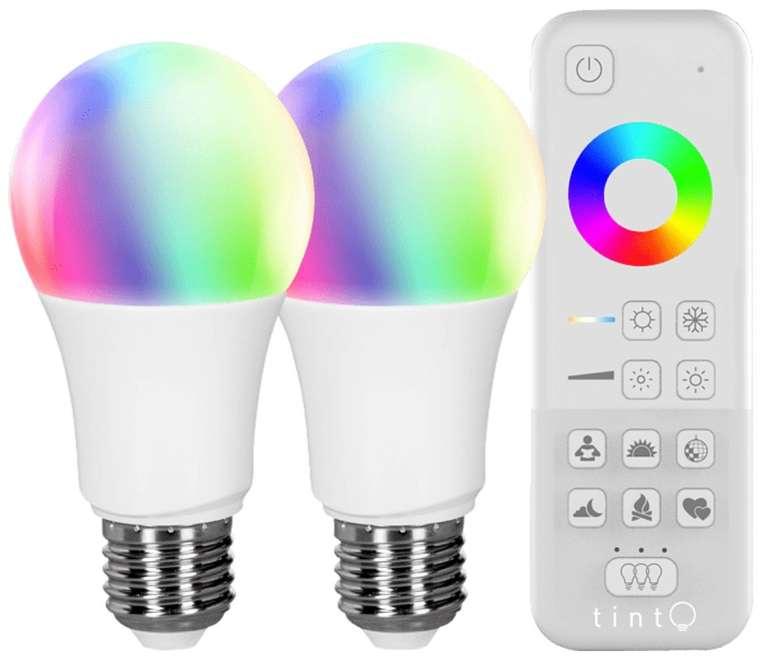 2er Set Müller-Licht LED-A60 Starter Set (Smart Home, Mehrfarbig) für 39,95€ inkl. Versand (statt 55€)