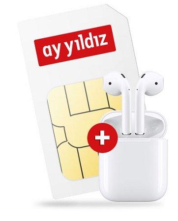 Ay Yildiz Allnet-Flat mit 12GB LTE (o2-Netz) + Apple Airpods für 18,99€ mtl.