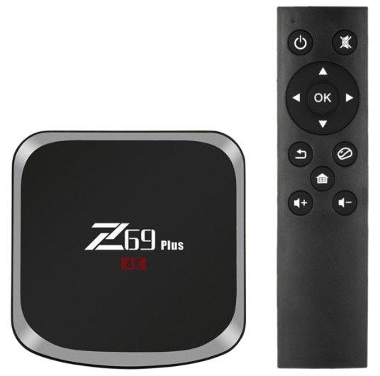 Z69 Plus Smart Android 7.1 TV Box 3GB / 64GB für 56,75€ inkl. Versand