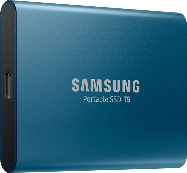 Samsung Portable T5 - Externe SSD mit 500GB Speicher für 79€ (statt 92€)