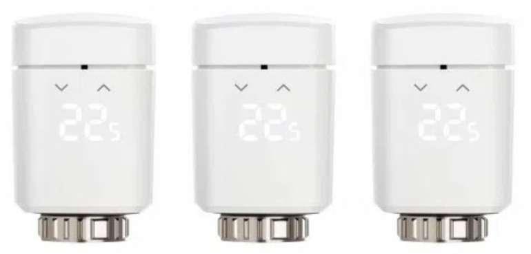 3er Pack Eve Thermo (2020) Heizkörperthermostate für 149,95€ inkl. Versand (statt 180€)