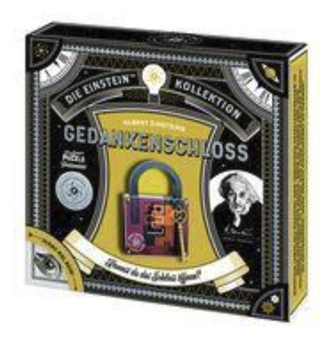 Prof Puzzle Albert Einsteins Gedankenschloss für 8,18€ inkl. Versand (statt 18€) - Thalia Club!