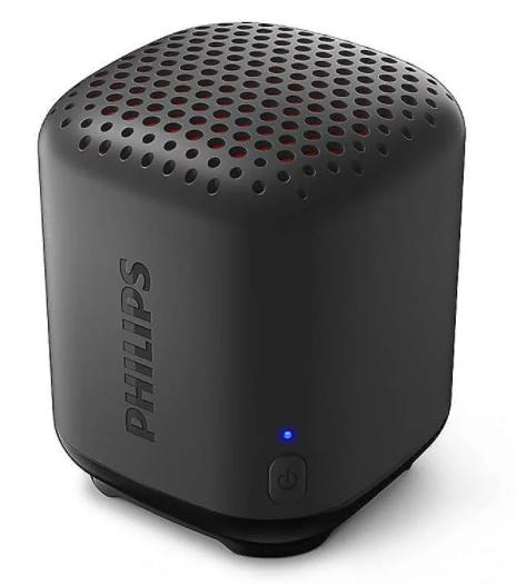 Philips TAS1505B/00 tragbarer Bluetooth-Lautsprecher in schwarz für 12,89€ inkl. Versand (statt 32€)