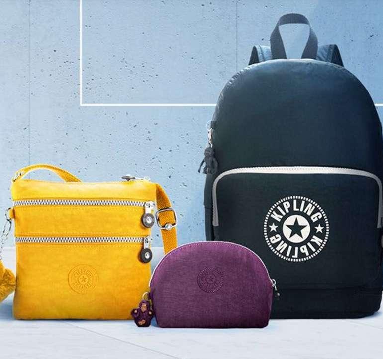 Großer Kipling Sale mit bis -65% Rabatt, z.B. Taschen & Rucksäcke ab 21,99€