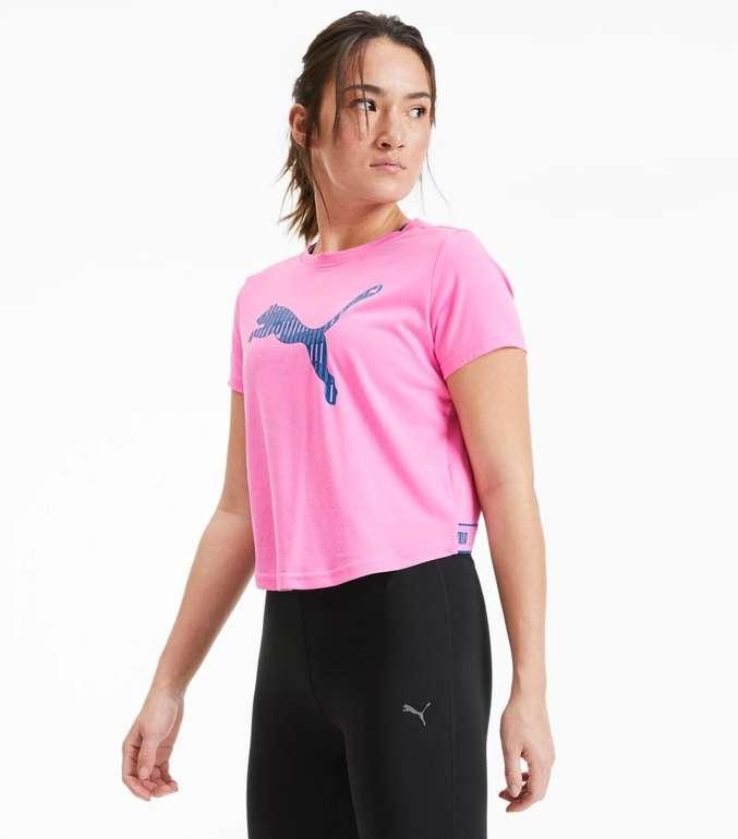 Puma Damen Trainingsshirt mit Logo für 15,96€ inkl. Versand (statt 20€)