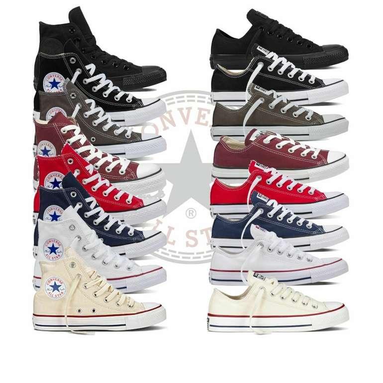 Verschiedene Converse Chucks All Star für Damen und Herren für je 39,95€ inkl. Versand