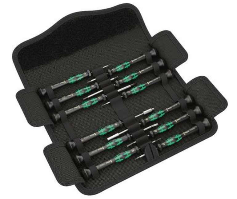 Wera Kraftform Micro 12 Electronics Schraubendreher für 52,70€ inkl. Versand (statt 59€)