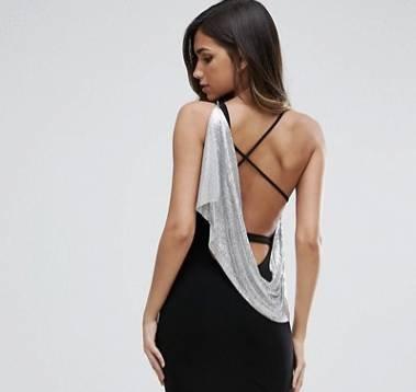 3500 Kleider im Asos Sale bis -60% Rabatt, z.B. Midi-Kleid mit Schlitz ab 11,99€
