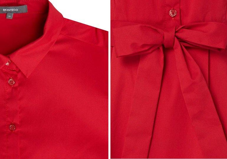 Montego Kleid mit Taillengürtel 2
