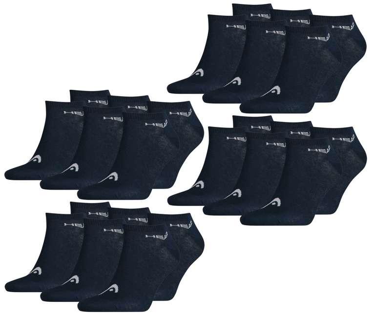 24er Pack Head Socken (Sneaker) für 33,92€ inkl. Versand (statt 51€)