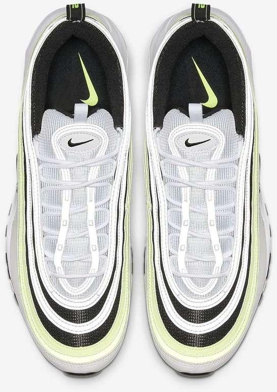 Nike Air Max 97 SE Sneaker in Weiß/Barely Volt/Schwarz-Colorway für 100,78€ (statt 135€)