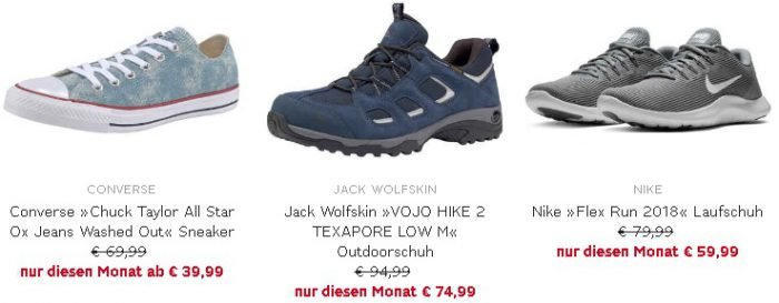 the latest f9bdd d03af OTTO: 10% Rabatt auf alle Schuhe z.B. Nike Laufschuhe Flex Run…